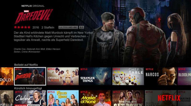 Netflix bekommt einen Daumen
