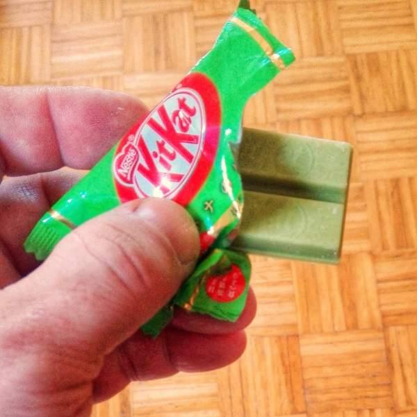 Matcha (grüner Tee) KitKat