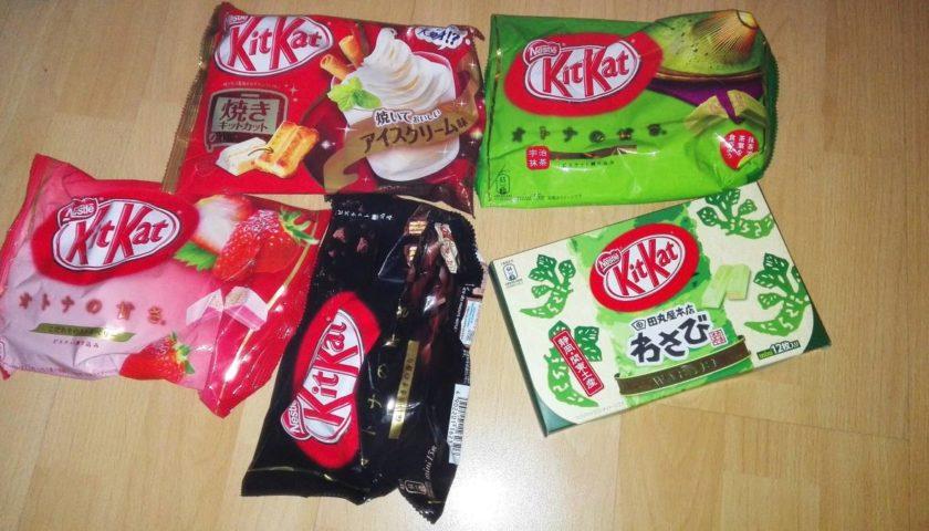 Japanische KitKat Sorten